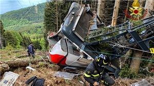 Italy: Điều tra vụ rơi cabin cáp treo làm 14 người chết