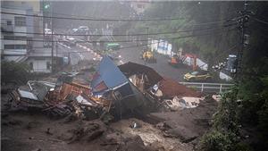 Hơn 20 người thiệt mạng và mất tích trong vụ lở đất tại Nhật Bản