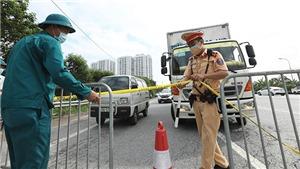 Lộ trình phương tiện không vào Hà Nội tránh ùn tắc tại các chốt kiểm soát dịch
