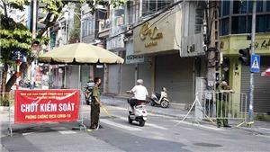 Hà Nội: 24h xử phạt 900 trường hợp vi phạm quy định phòng dịch Covid-19