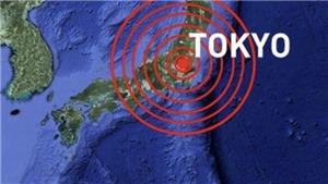 Động đất6,1 độlàm rung chuyển vùng thủ đô Tokyo