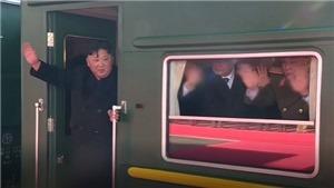 VIDEO: Đoàn tàu bọc thép bí ẩn của Chủ tịch Triều Tiên