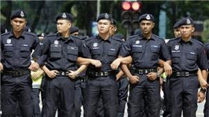 Cảnh sát Malaysia bắt 4 đối tượng lên kế hoạch tấn công các địa điểm hành lễ
