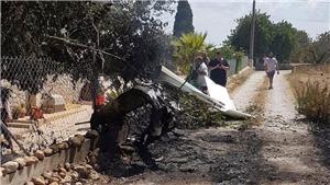 Máy bay quân sự của Tây Ban Nha rơi ở biển