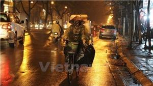 Thời tiết đêm 8, ngày 9/3: Bắc Bộ đêm trời rét có mưa nhỏ, mưa phùn