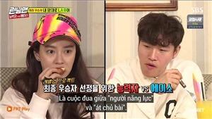 Running man tập 438: Cuộc chiến kịch tính giữa 'Người năng lực' Kim Jong Kook và 'Át chủ bài' Song Ji Hyo