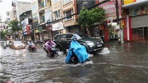 Từ đêm 28-31/8, ảnh hưởng rãnh áp thấp, Bắc Bộ và các tỉnh Thanh Hóa, Nghệ An có nơi mưa rất to