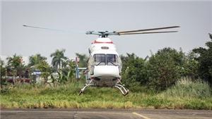 Chùm ảnh: Màn trình diễn hoành tráng của hai trực thăng Nga trên bầu trời Hà Nội