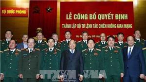 Quy định về Cấp bậc quân hàm cao nhất các chức danh lãnh đạo của đơn vị thành lập mới thuộc Bộ Quốc phòng
