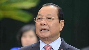 Cách chức Bí thư Thành ủy TP.HCM nhiệm kỳ 2010 - 2015 đối với ông Lê Thanh Hải