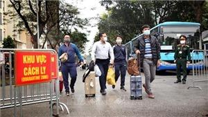 Hơn 1.300 người hoàn thành cách ly tập trung tại Ký túc xá Đại học Quốc gia Thành phố Hồ Chí Minh