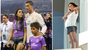 Cristiano Ronaldo bị nghi ngờ 'vũ phu' với bạn gái mang bầu 7 tháng