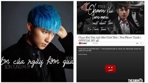 Không chỉ Noo Phước Thịnh, Sơn Tùng cũng từng bị gỡ MV triệu view khỏi Youtube
