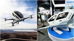 Máy bay không người lái chở khách đầu tiên trên thế giới có chuyến bay ra mắt
