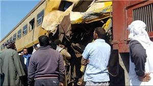 Tai nạn tàu hỏa ở Ai Cập khiến ít nhất 25 người thương vong