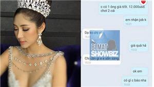 Tin đồn 'Hoa hậu Đại dương Đặng Thu Thảo đi khách 12 nghìn USD': Những scandal động trời từ... điện thoại
