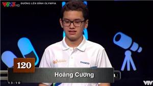 XEM VIDEO: Nam sinh Quảng Ninh xác lập kỷ lục mới của Olympia sau 17 năm