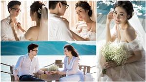 Á hậu Tú Anh tung trọn bộ ảnh cưới đẹp lung linh trước khi chính thức theo chồng