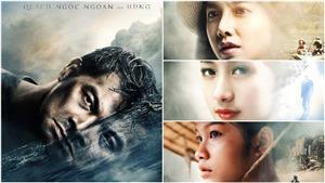 Ngắm loạt poster 'ma mị', hé lộ thân phận của các nhân vật trong 'Người bất tử'