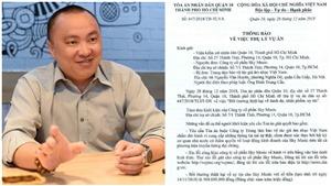 Tòa án Nhân dân Quận 10 đã thụ lý vụ án, Sky Music yêu cầu VCPMC bồi thường 500 triệu đồng