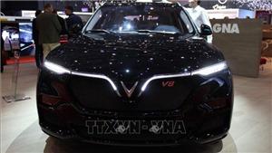 VinFast trình làng mẫu xe SUV Lux phiên bản đặc biệt tại triển lãm ô tô Geneva