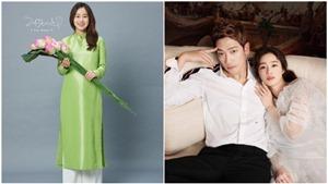 Sau 5 tháng sinh con đầu lòng, 'nữ thần sắc đẹp' Kim Tae Hee chuẩn bị đến Việt Nam
