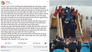 Tổng giám đốc Vietjet Air xin lỗi về những hình ảnh 'nhạy cảm' trên chuyên cơ chở 'đội quân' U23 Việt Nam