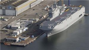 'Đại bản doanh trên biển' của Nga sẽ 'ăn đứt' siêu tàu chiến Mistral của Pháp?