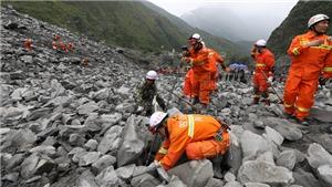 Ảnh: Hiện trường kinh hoàng vụ sạt lở đất đá vùi lấp hơn 140 người tại Trung Quốc