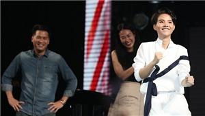 Vũ Cát Tường trình làng ca khúc mới tại Birthday Concert