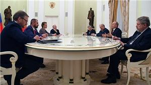 Tổng thống Nga Vladimir Putin: Moskva không muốn chạy đua vũ trang, sẽ giảm chi phí quốc phòng