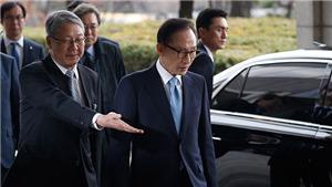 Cựu Tổng thống Hàn Quốc Lee Myung-bak thừa nhận đã nhận 100.000 USD từ cơ quan tình báo