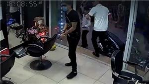 Bắt giữ nhóm đối tượng nổ súng trong hiệu cắt tóc ở Hà Nội