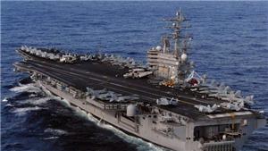 Mỹ đưa tàu sân bay USS Ronald Reagan với hơn 70 máy bay các loại tới Biển Đông tuần tra