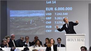 Một kiệt tác của danh họa Van Gogh bán được giá kỷ lục, hơn 7 triệu euro