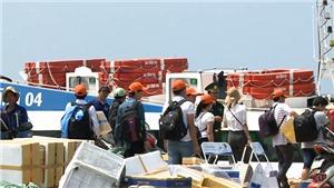 2000 du khách mắc kẹt tại huyện đảo Lý Sơn do thời tiết xấu