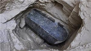 Ai Cập: Chuẩn bị cho mở ngôi mộ bằng đá granite đen khổng lồ mới được tìm thấy