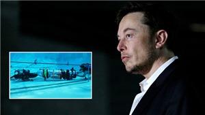Elon Musk đến Thái Lan, mang theo tàu ngầm 'Lợn hoang' giải cứu đội bóng thiếu niên