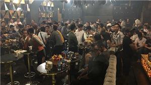 Đột kích quán bar, phát hiện gần 100 người sử dụng ma túy