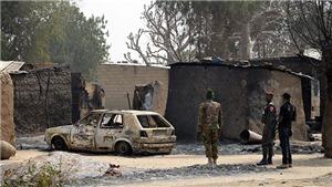 Ít nhất 17 binh sĩ thiệt mạng sau vụ tấn công của Boko Haram