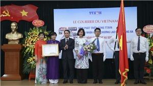 Báo Le Courrier du Vietnam - kênh thông tin đối ngoại quan trọng của quốc gia