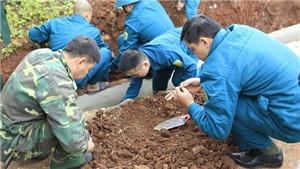 Phát hiện hài cốt và vũ khí vật liệu nổ tại Di tích Đồi A1, Điện Biên