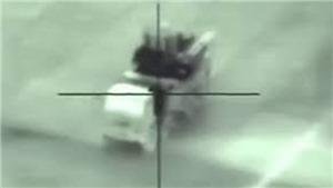 VIDEO: Khoảnh khắc tên lửa Israel dội trúng tổ hợp pháo phòng không Syria