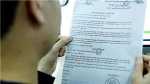 Điều tra làm rõ, xử lý nghiêm việc giả mạo văn bản của cơ quan công an