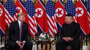 VIDEO: Tổng thống Trump và Chủ tịch Kim nói gì trước khi bắt đầu họp kín?