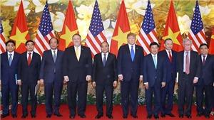Tổng thống Donald Trump cảm ơn Việt Nam đã hỗ trợ rất chu đáo cho Cuộc gặp Thượng đỉnh Hoa Kỳ - Triều Tiên