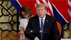 Tổng thống Trump khẳng định các cuộc thảo luận 'rất, rất tích cực'