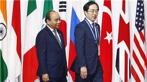 Khai mạc Hội nghị Thượng đỉnh G20 ở Osaka, Nhật Bản