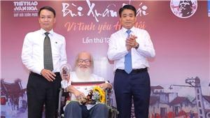 Giải thưởng lớn 'Vì tình yêu Hà Nội - PGS.TS.NGƯT Nguyễn Thừa Hỷ: 'Yêu Hà Nội cần nhất sự thật lòng'