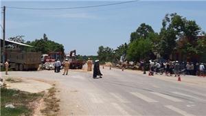 Tạm giữ tài xế xe tải đè chết 3 người trên ôtô con ở Thanh Hóa